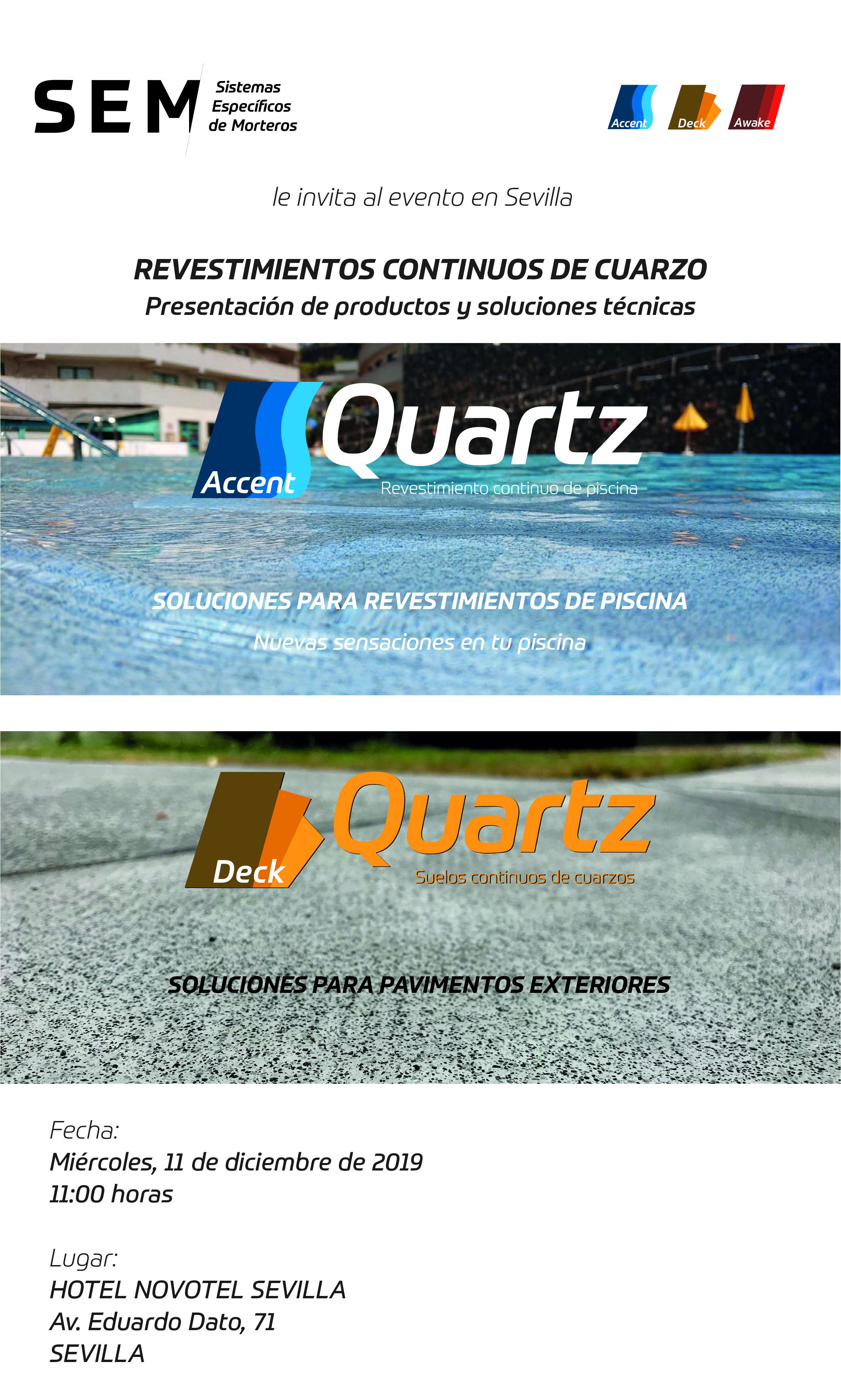 Presentación de productos y soluciones técnicas en Sevilla
