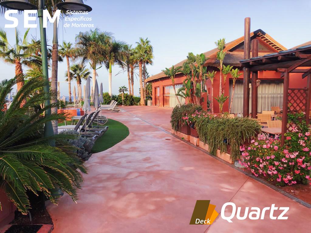Deck Quartz Hotel Sheraton La Caleta (Tenerife)
