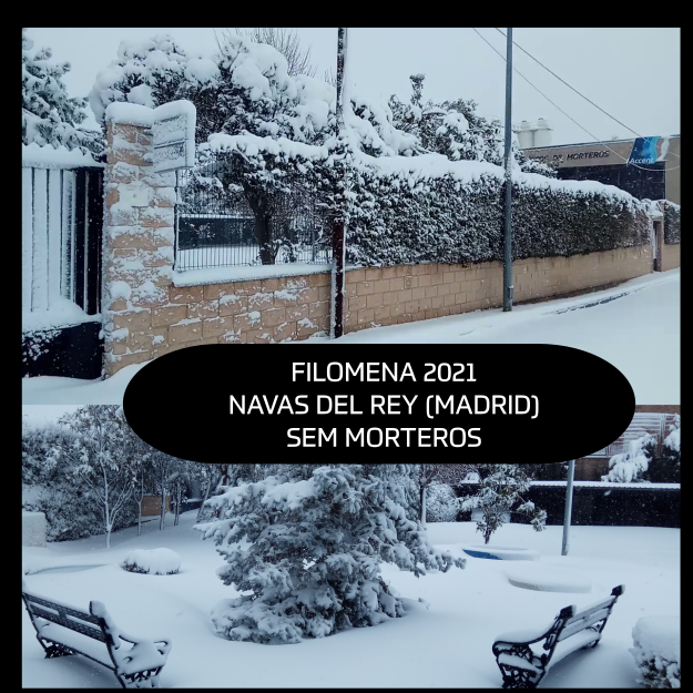 FILOMENA 2021 MADRID