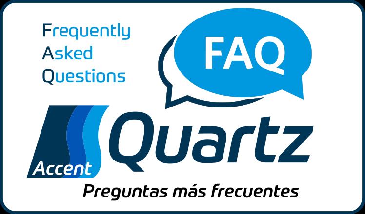 Preguntas Frecuentes Accent Quartz (FAQ)